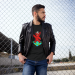Unisex T-Shirt Triceratops night fever