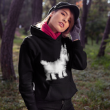 Cool Unisex Animal hoodie Westie dog