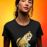 Cool Unisex Animal T-Shirt Greater surfing slow loris