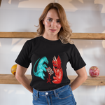 Cool Unisex Dinosaur T-Shirt Dinosaurs playing chess