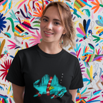 Unisex T-Shirt Spinosaurus with armbands
