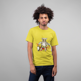 Cool animal unisex T-shirt Possum percussionist