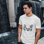 Cool Koalas Playing Chess Unisex T-Shirt