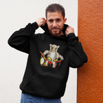 Cool animal unisex Hoody Possum percussionist