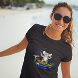 Cool Unisex T-Shirt Koala Surfing