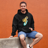 Cool Unisex Animal hoodie Greater surfing slow loris