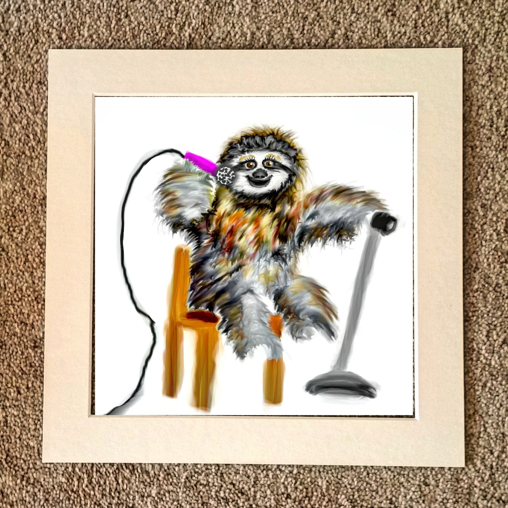 Soulful sloth
