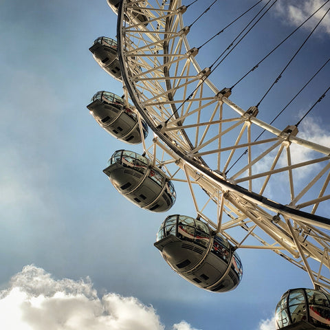 Pods of the London eye