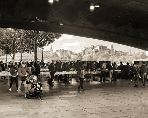 Book fair under the bridge