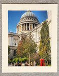 St Paul's and red telephone box