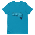 Unisex Animal T-Shirt Whale on a mobile phone