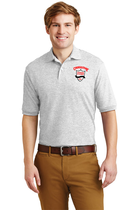Adult - 100% Cotton Polo with Logo