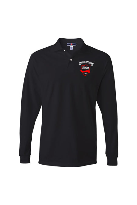 Adult - Long Sleeve Polo