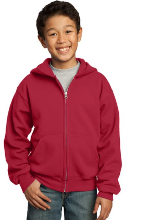 Youth Full-Zip Hoodie