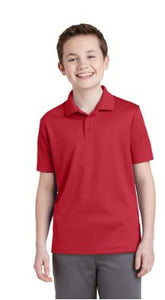 Youth Unisex 100% Poly POLO YST640