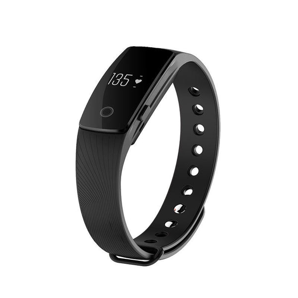 Heart Rate Monitor Smart Wristband Step Counter for Iphone and Android