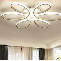white Modern LED Ceiling Lights