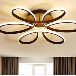 Modern LED Ceiling Lights in Black
