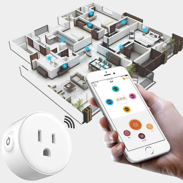 Smart Socket With Wireless Control Function For Smart Home Automation