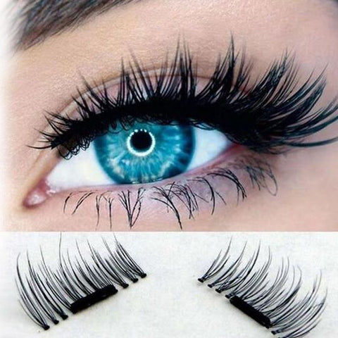 1 Pair Magnetic False Eyelashes