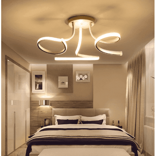 Swirl Ceiling Light