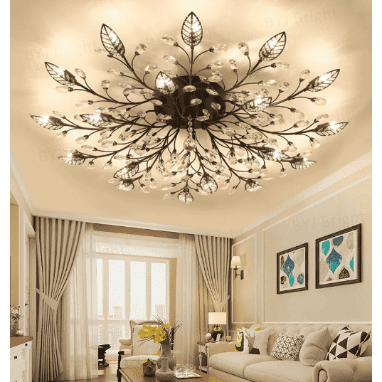 Chandelier With Crystal