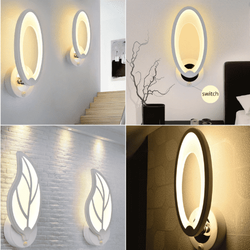 Oval Wall Lamp