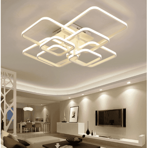 Multi Square Ceiling Lights