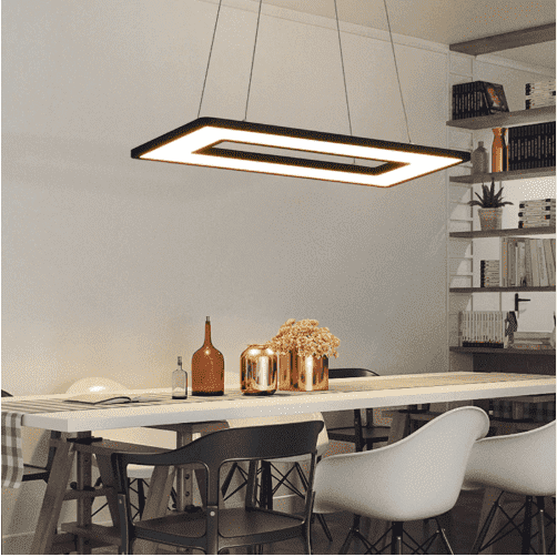 Square Pendant Ceiling Light