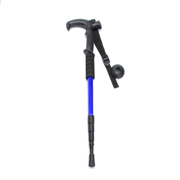 Adjustable Telescopic Hiking Pole Ultralight Anti-Shock Retractable