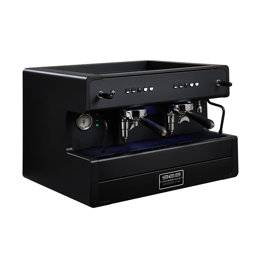 ALL BLACK LED Espressomaschine 2G