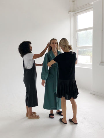 Autumn Afternoon AW18 Shoot Behind the Scenes
