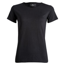 Black tee Charlie embroidered
