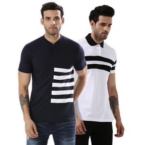Pack of 2 Premium Quality Casual Tees