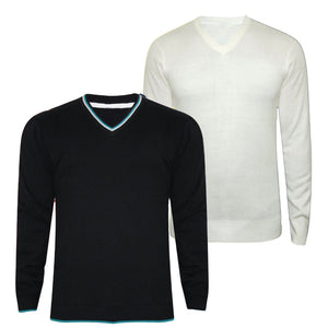 Combo of 2 Branded Solid Sweaters