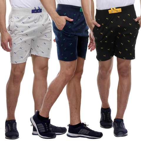 Pack of 3 Branded Premium Quality Shorts