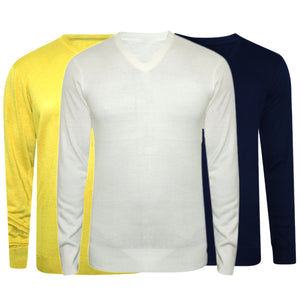 Combo of 3 Branded Solid Sweaters