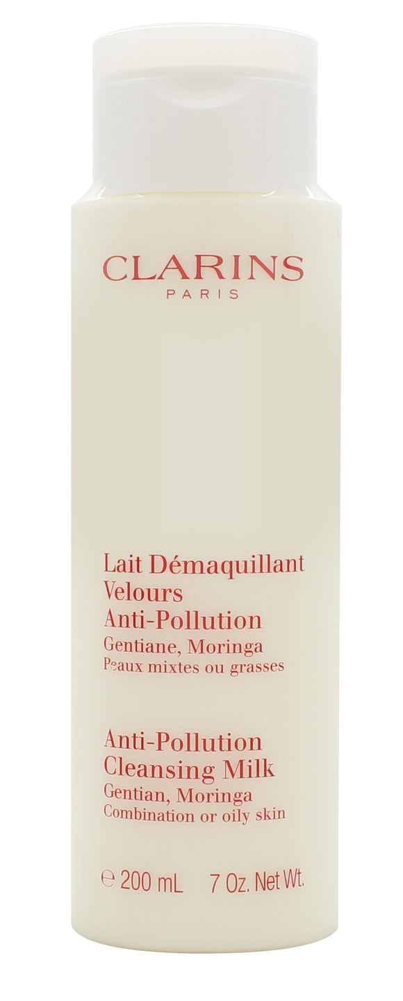 Clarins Cleansers and Toners Cleansing Milk with Gentian - Combination/Oily Skin 200ml