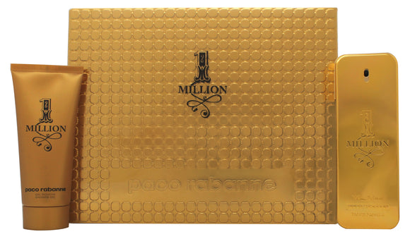 Paco Rabanne 1 Million Mens Gift Set 100ml EDT + 100ml Shower Gel