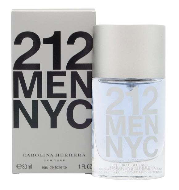 Carolina Herrera 212 Men Eau De Toilette 30ml Spray