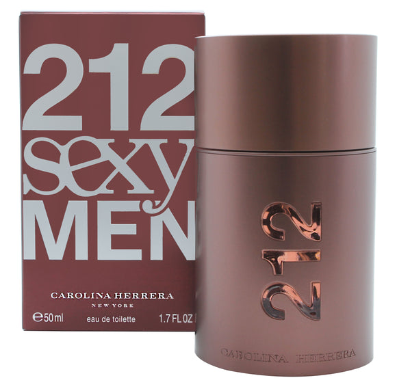 Carolina Herrera 212 Sexy  Men Eau de Toilette 50ml Spray