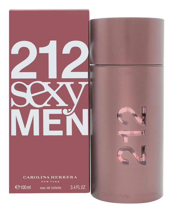 Carolina Herrera 212 Sexy  Men Eau de Toilette 100ml Spray