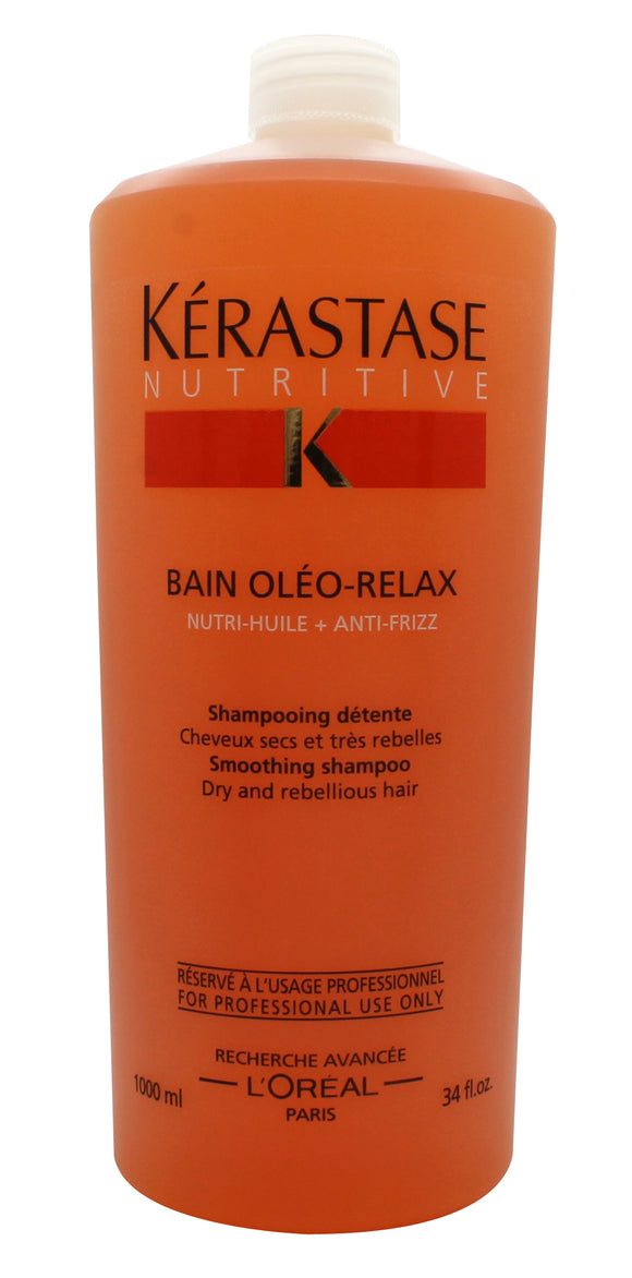 Kerastase Nutritive Bain Oleo Relax Smoothing Shampoo 1000ml - C&L Beauty