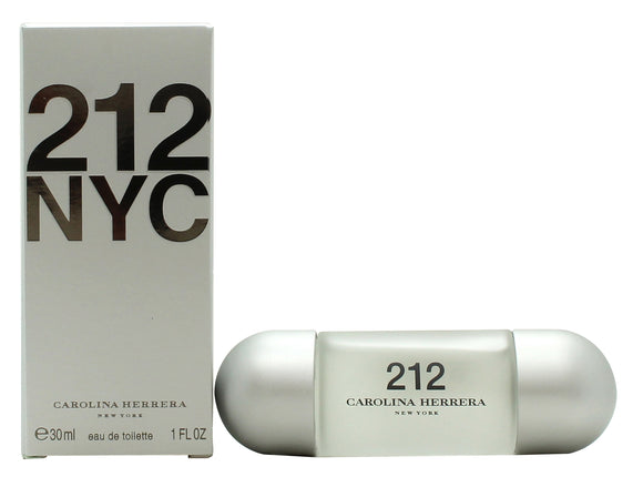 Carolina Herrera 212 Femme Eau de Toilette 30ml Spray