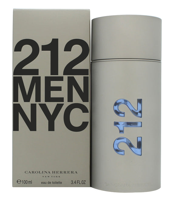 Carolina Herrera 212 Men Eau De Toilette 100ml Spray