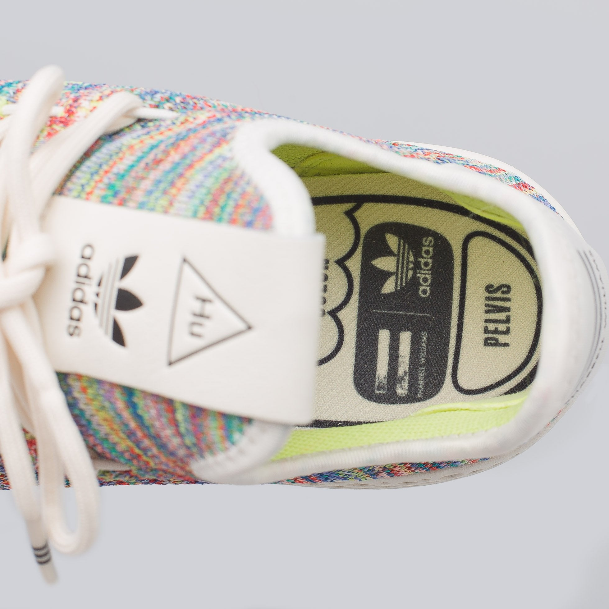 fa8d135c8 x Pharrell Williams Tennis Hu Primeknit in Multi – PZOZO