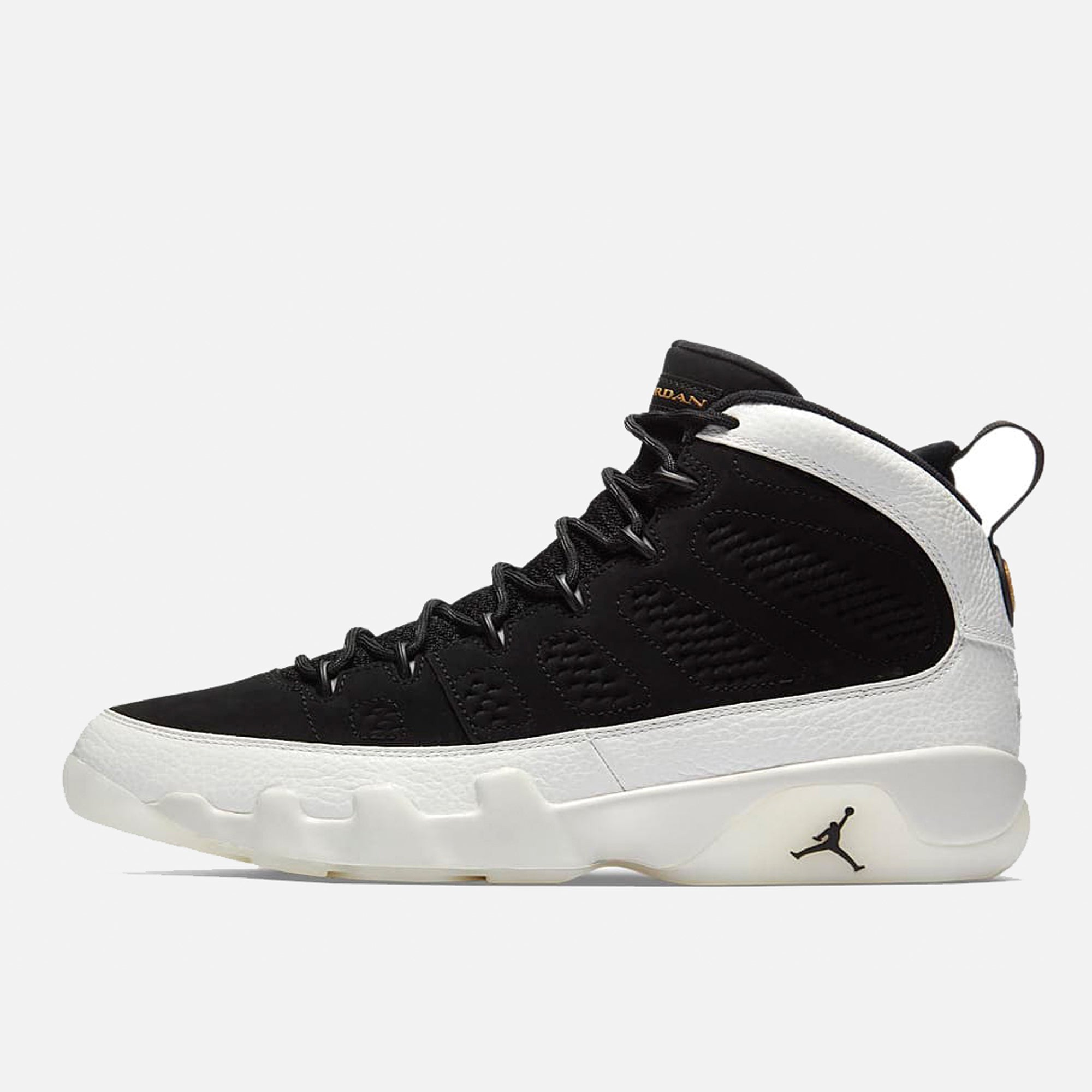 92d6ef9e446 ... coupon for air jordan 9 ix retro la los angeles nba all star black  white pzozo ...