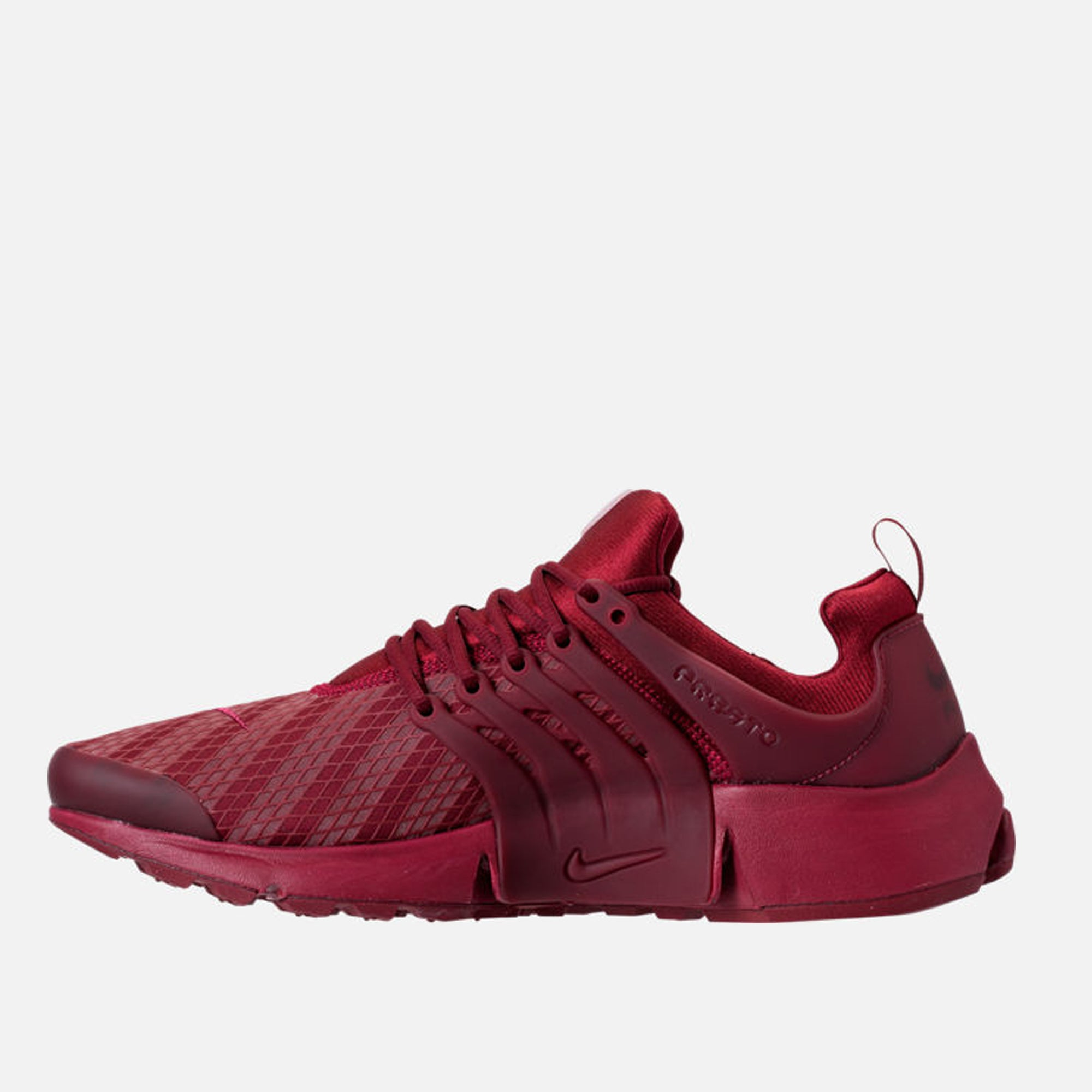 reputable site 1bd2b 56aad Men S Nike AIR Presto Low Utility Casual Shoes Team Red - PZOZO