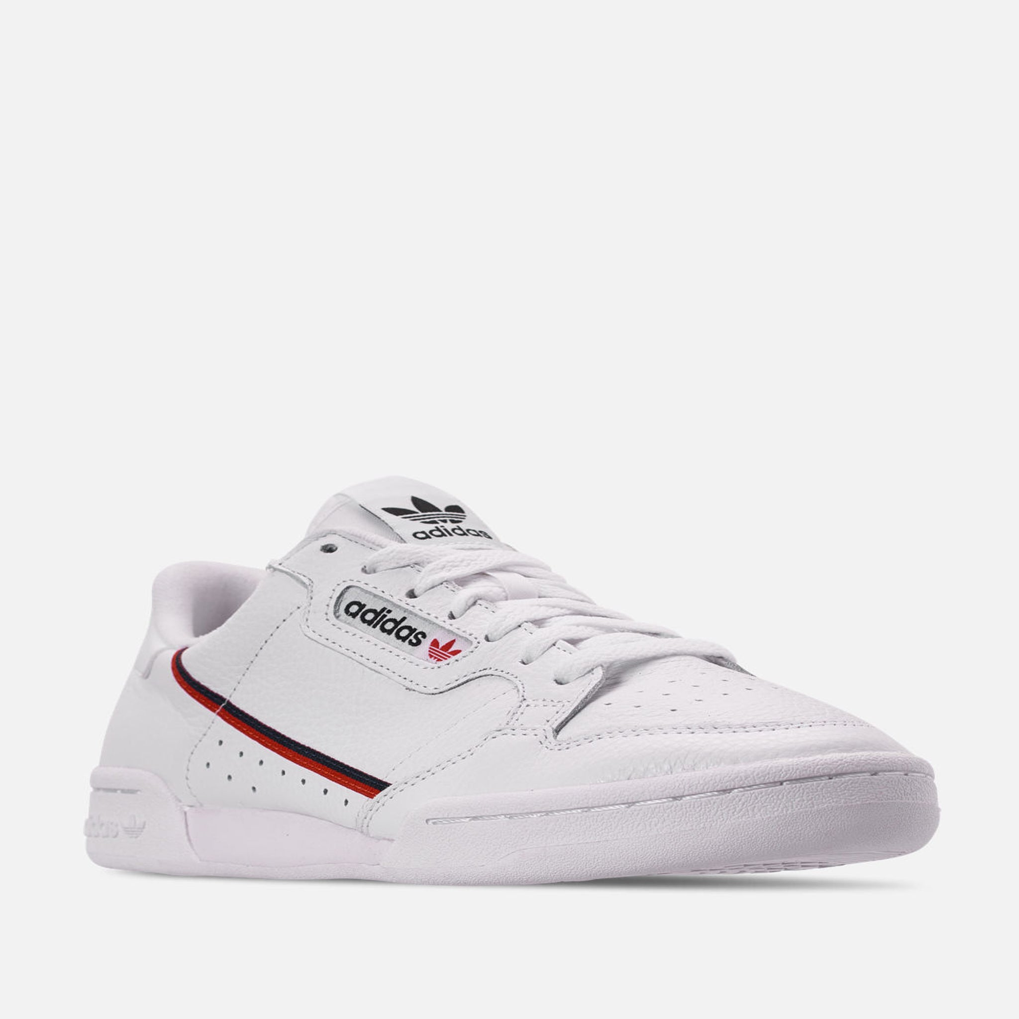 best loved b7891 ec53f Men s Adidas Originals Continental 80 Casual Shoes Off White  Scarlet Collegiate  Navy - PZOZO