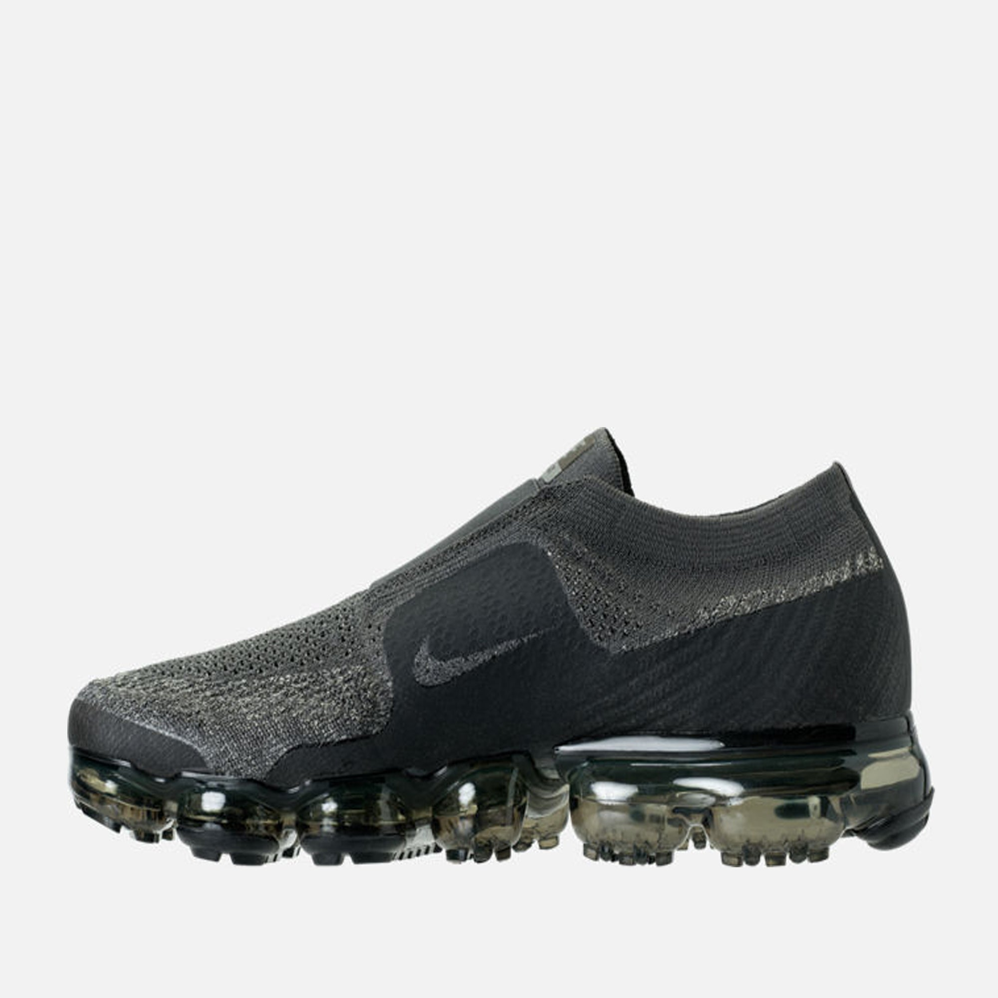 e4fedb0dfccd0 Men s Nike AIR VAPORMAX Flykint MOC Running Shoes Midnight Fog Dark Stucco  - PZOZO
